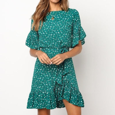 Boho Short Cocktail Dress hippie