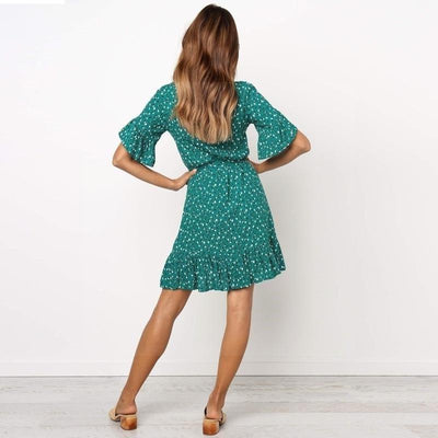 Boho Short Cocktail Dress cute