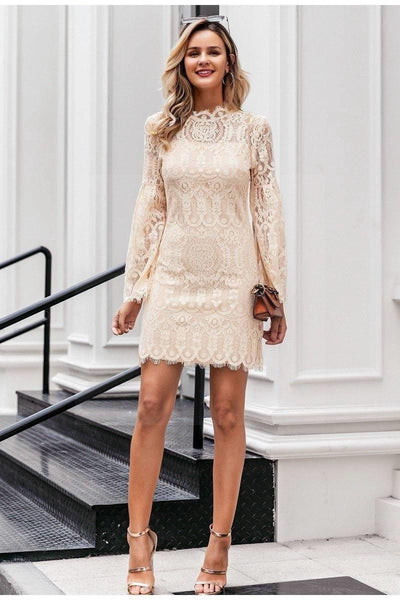 Chic Boho Crochet Dress luxury