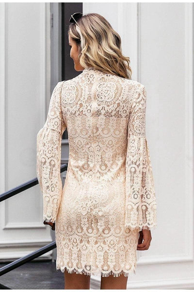 Chic Boho Crochet Dress boho chic