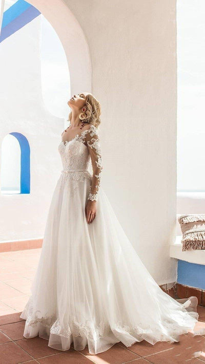 Boho Wedding Dress Chic Woman boho