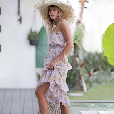 Hippie Chic Flowing Dress chic