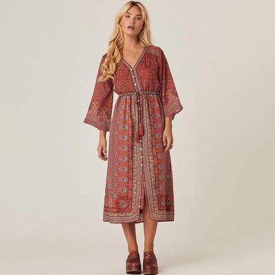 Hippie Dress Chic Paris finely tailored