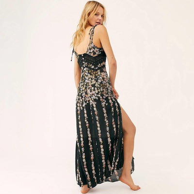 Cheap Chic Hippie Dress Ladylike