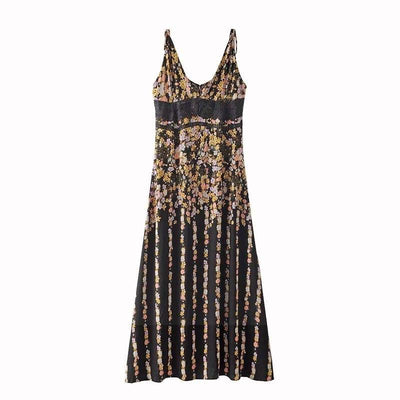 Cheap Chic Hippie Dress chaming