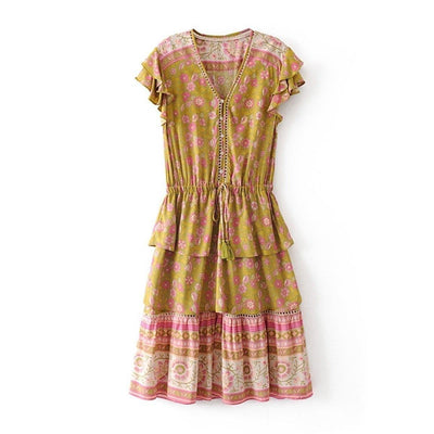 Hippie Dress Quick Delivery bohemian