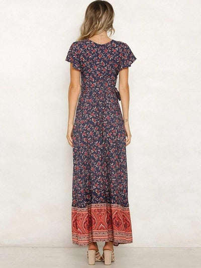 Tie And Dye Hippie Dress cheap