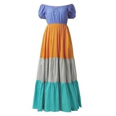 Boho Winter Gipsy Long Dress boho