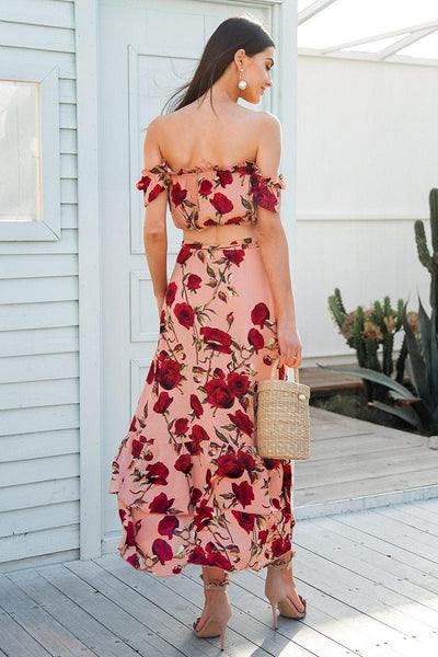 Boho Boho Long Dress chaming