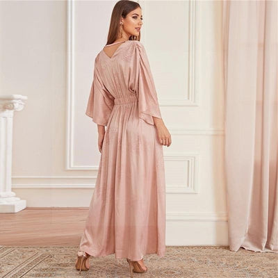 Boho Chic Pink Dress low price