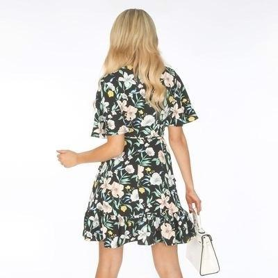Floral Boho Long Dress luxury
