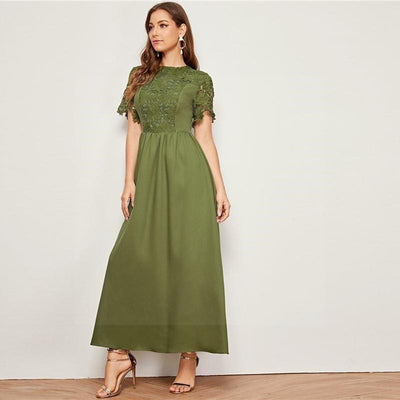Boho Long Dress With Sleeve low price