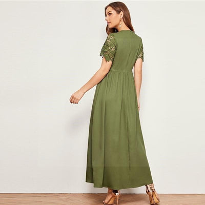 Boho Long Dress With Sleeve 2020