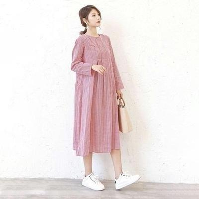Pink Boho Long Dress cheap
