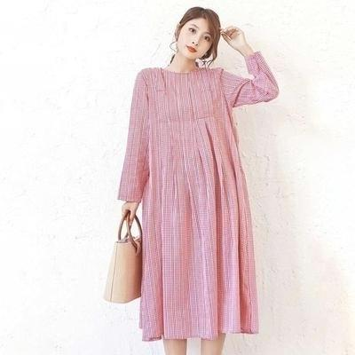Pink Boho Long Dress high quality