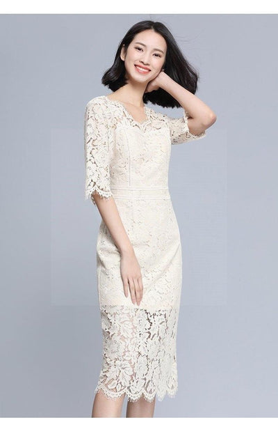 Boho Lace And Chic Long Dress boho chic