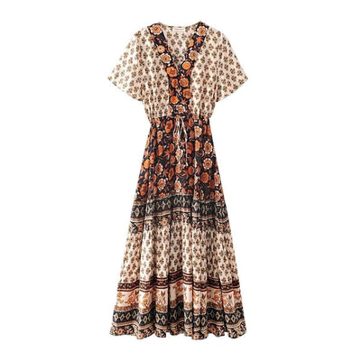 Romantic Hippie Long Dress boho chic