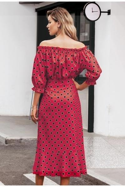 Boho Long Dress In Cotton trendy