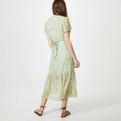 Hippie Chic Green Long Dress bohemian life