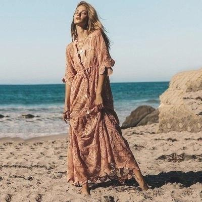 Boho Chic Summer Long Dress chaming