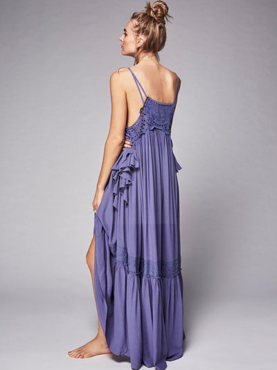 Boho Chic Maxi Long Dress finely tailored