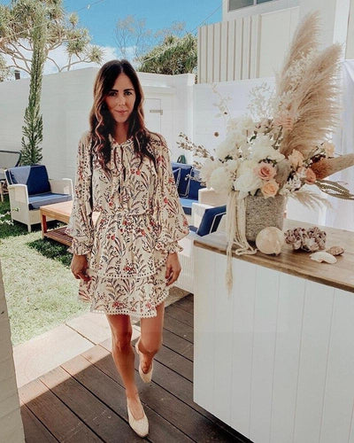 Boho Summer Dress Woman bohemian