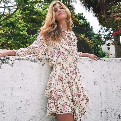 Boho Summer Dress Woman boho chic