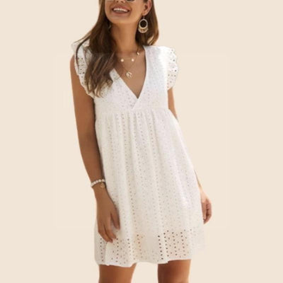 Boho Dress With Lace luxury