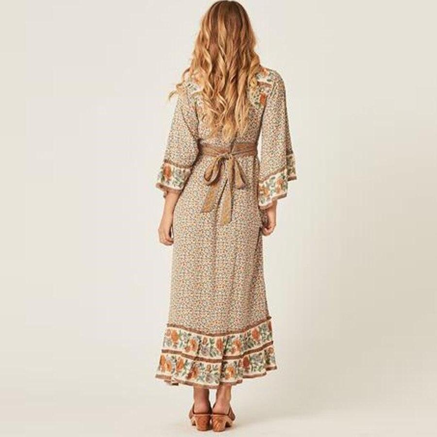 Chic Boho Dress Autumn 2018 cute