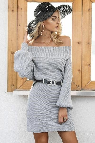 Boho Chic Grey Dress best