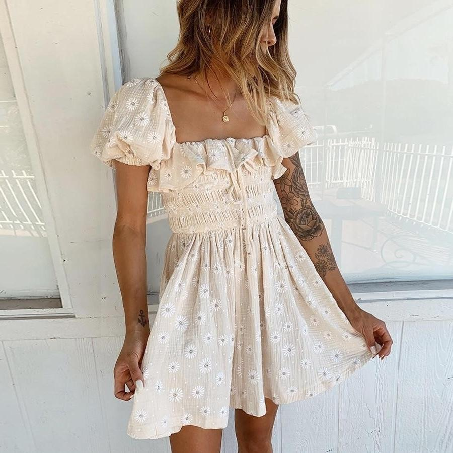 Romantic Chic Boho Dress 1 2020