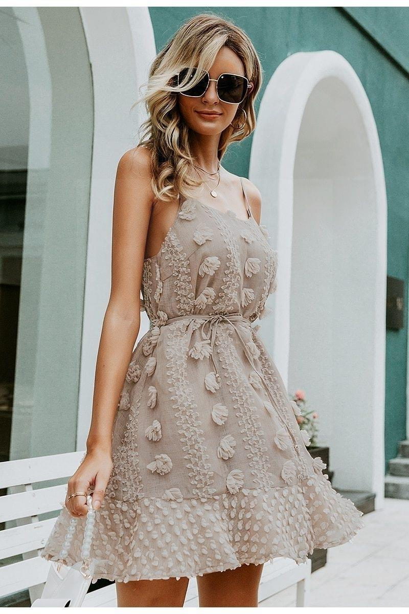 Elegant Boho Dress chaming