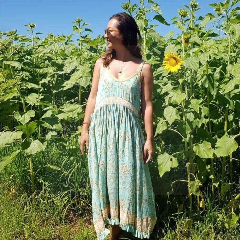 Boho Hippie Dress Woman low price