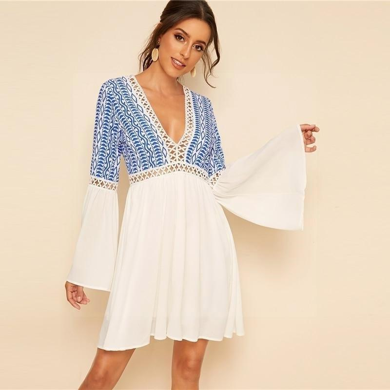 Boho Hippie Dress luxury