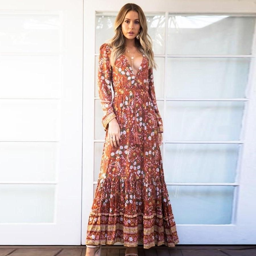 Chic Boho Evening Dress 1 style
