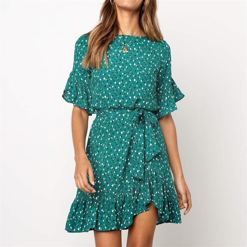 Boho Short Cocktail Dress cheap