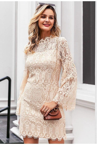 Chic Boho Crochet Dress bohemian