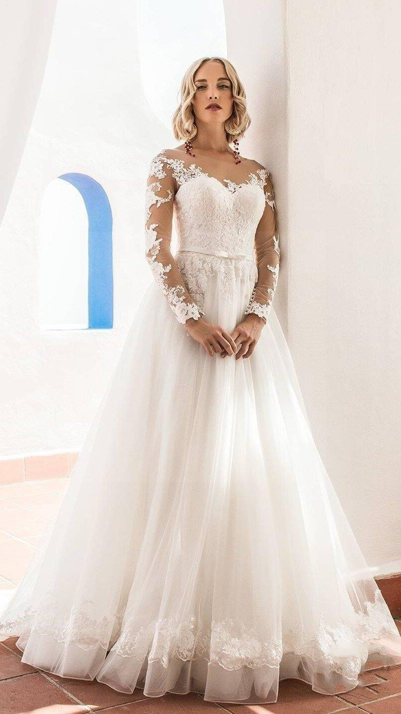 Boho Wedding Dress Chic Woman