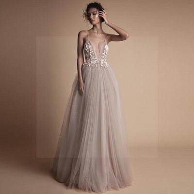 Glamorous Boho Wedding Dress cheap