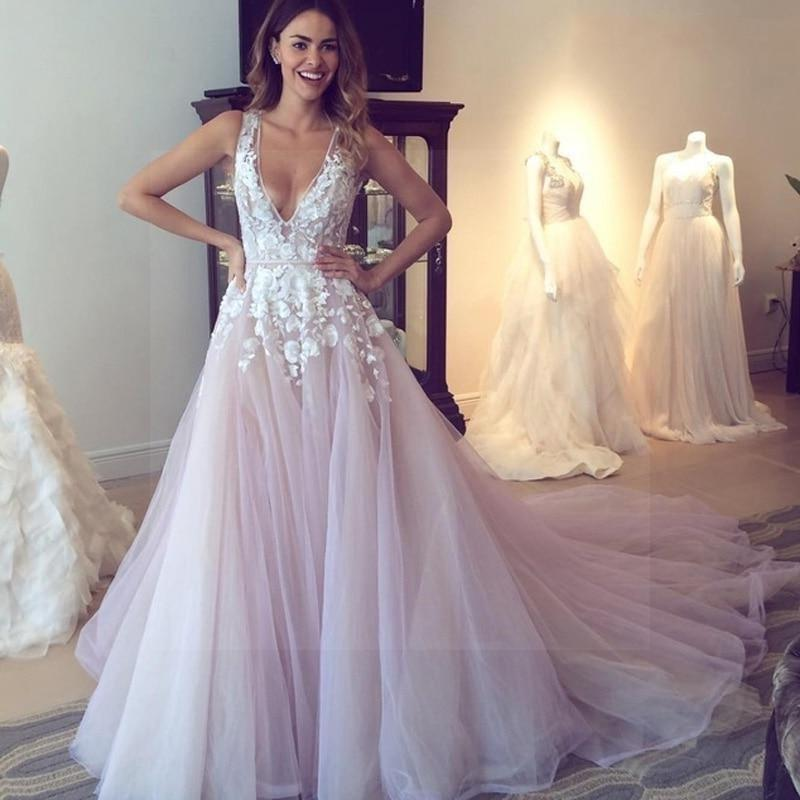 High Fashion Boho Wedding Dress Ladylike