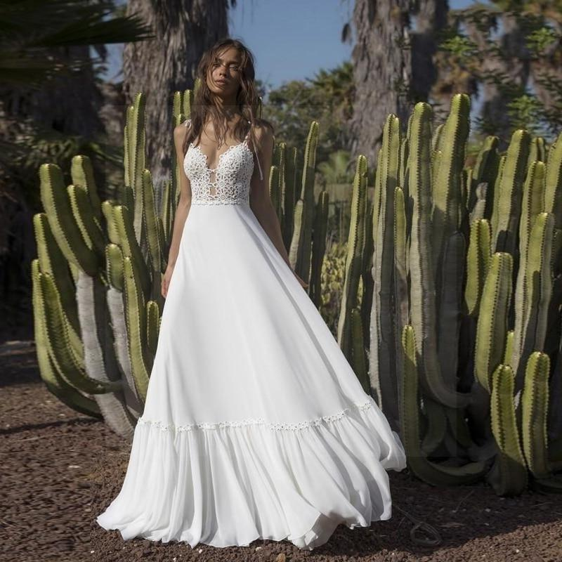 Boho And Chic Wedding Dress cheap