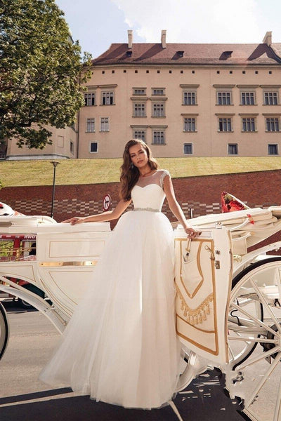 Boho Chic Wedding Dress 2019