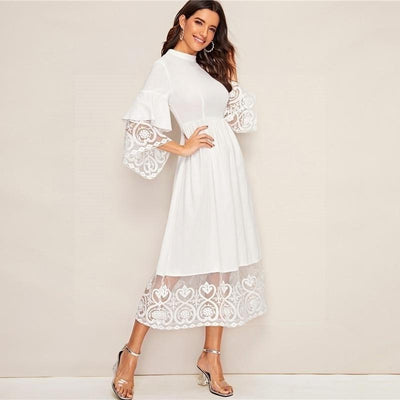 Chic Boho Long Summer Dress luxury