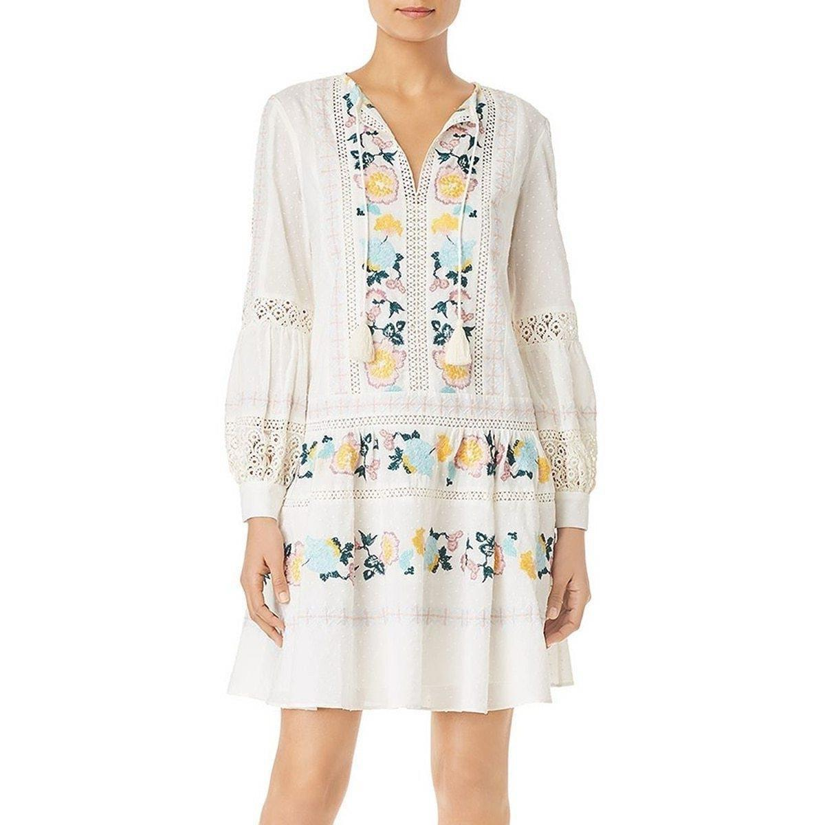 Hippie Dress Chic White 2019