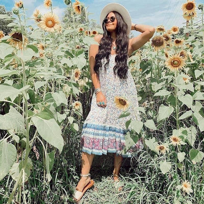 Chic Hippie Dress style