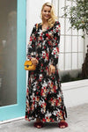Boho Chic Floral Long Dress luxury