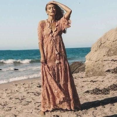 Boho Chic Summer Long Dress trendy