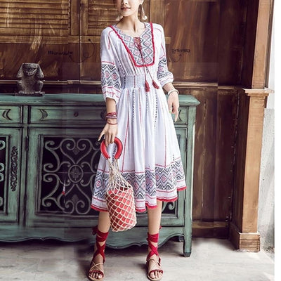 Boho Long Dress Chic Summer 2020 boho
