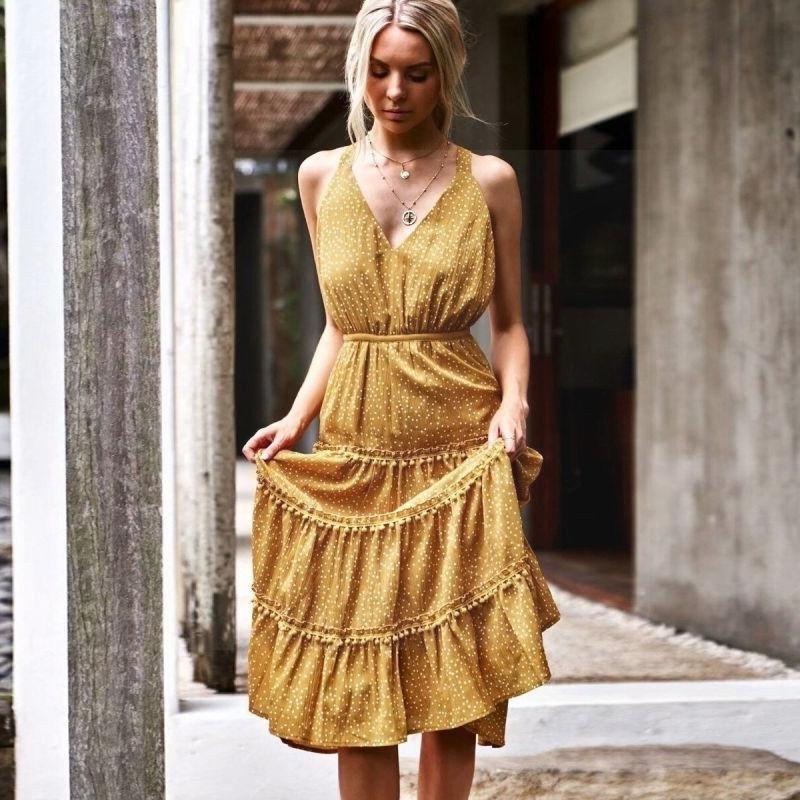 Boho Long Dress Chic Summer 2019 bohemian life