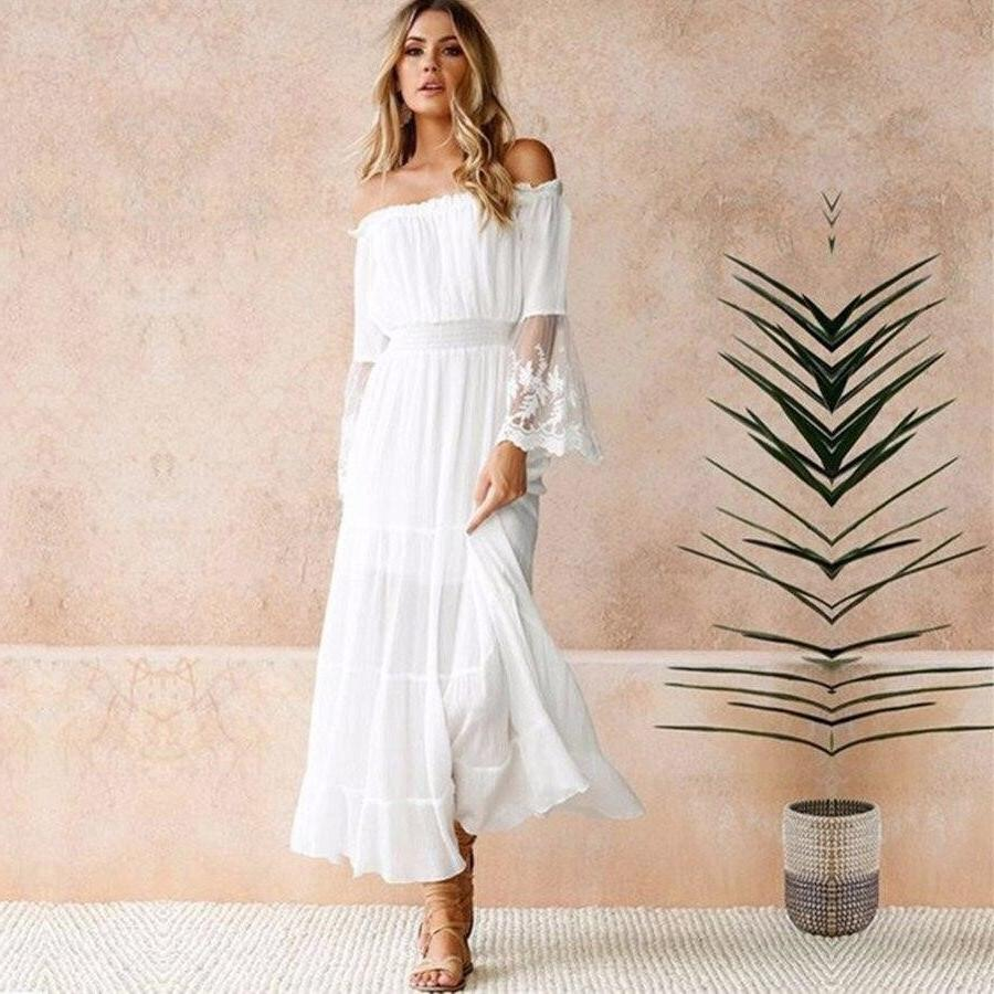 Boho Long Dress Winter 2019 2020